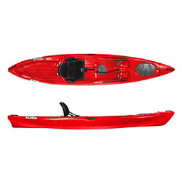 Wilderness Systems Ride 135 Kayak, Red, 256