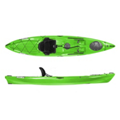 Wilderness Systems Ride 135 Fishing Kayak, Lime, medium