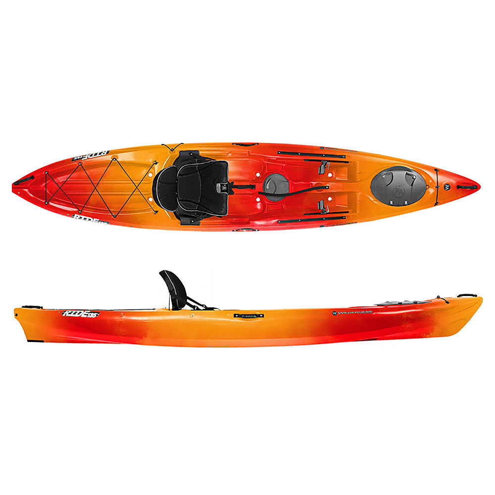 Wilderness systems ride 135 fishing kayak ebay for Wilderness systems fishing kayaks