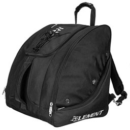 5th Element Bomber Boot Bag, Black-Silver, 256
