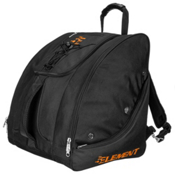 5th Element Bomber Boot Bag 2017, Black-Orange, medium