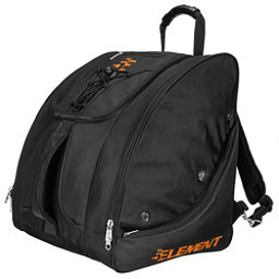 5th Element Bomber Boot Bag 2017, Black-Orange, 256