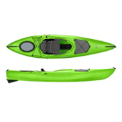Dagger Axis 10.5 Recreational Kayak 2016, Lime, medium