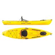 Ocean Kayak Tetra 10 Recreational Kayak, Yellow, medium