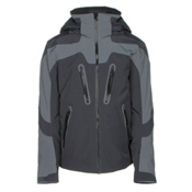 Obermeyer Spartan Mens Insulated Ski Jacket, Graphite, medium