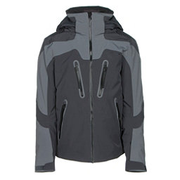 Obermeyer Spartan Mens Insulated Ski Jacket, Graphite, 256