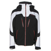 Obermeyer Spartan Mens Insulated Ski Jacket, Black, medium