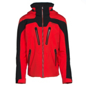 Obermeyer Spartan Mens Insulated Ski Jacket, Red, medium