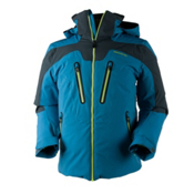 Obermeyer Spartan Mens Insulated Ski Jacket, High Seas, medium