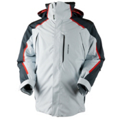 Obermeyer Charger Mens Insulated Ski Jacket, Vapor, medium