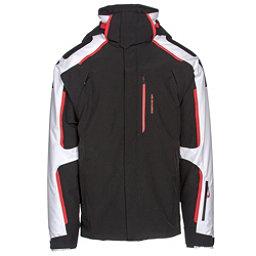 Obermeyer Charger Mens Insulated Ski Jacket, Black, 256