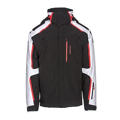 Obermeyer Charger Mens Insulated Ski Jacket, Vapor, viewer