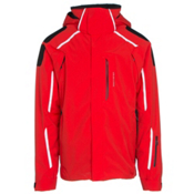 Obermeyer Charger Mens Insulated Ski Jacket, Red, medium