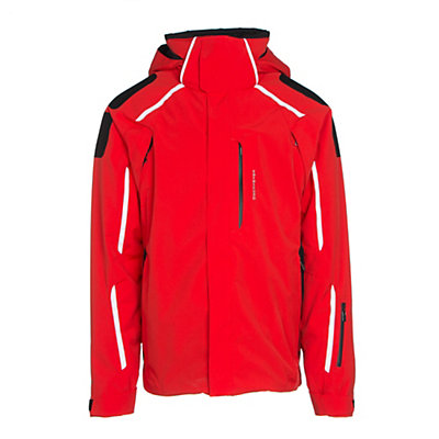 Obermeyer Charger Mens Insulated Ski Jacket, Vapor, viewer