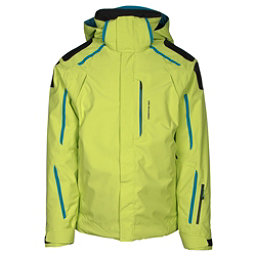 Obermeyer Charger Mens Insulated Ski Jacket, Screamin Green, 256