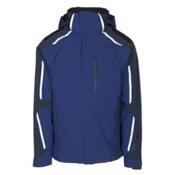 Obermeyer Charger Mens Insulated Ski Jacket, Dusk, medium