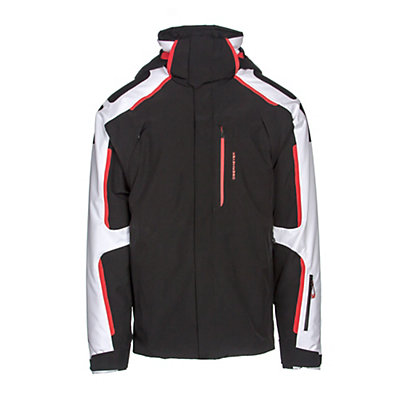 Obermeyer Charger Tall Mens Insulated Ski Jacket, Black, viewer