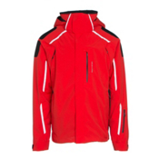 Obermeyer Charger Tall Mens Insulated Ski Jacket, Red, medium