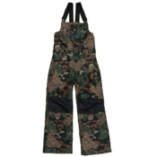 686 Cornice Insulated Bib Kids Snowboard Pants, Army Cubist Camo, medium
