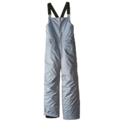 686 Cornice Insulated Bib Kids Snowboard Pants, Grey, medium