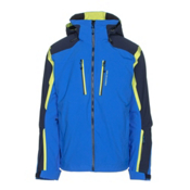 Obermeyer Trilogy 3 in 1 Mens Insulated Ski Jacket, Stellar Blue, medium