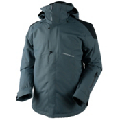 Obermeyer Foundation Tall Mens Insulated Ski Jacket, Graphite, medium