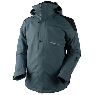 Obermeyer Foundation Tall Mens Insulated Ski Jacket, Graphite, viewer