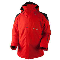 Obermeyer Foundation Tall Mens Insulated Ski Jacket, Red, 256