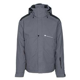 Obermeyer Foundation Mens Insulated Ski Jacket, Graphite, 256