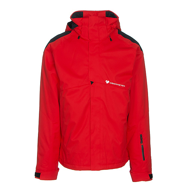 Obermeyer Foundation Mens Insulated Ski Jacket, Red, 600