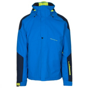 Obermeyer Foundation Mens Insulated Ski Jacket, Stellar Blue, medium