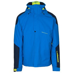 Obermeyer Foundation Mens Insulated Ski Jacket, Stellar Blue, 256