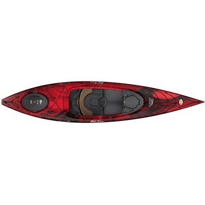 Old Town Loon 126 Kayak 2016, Black Cherry, viewer
