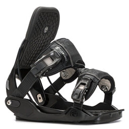 Flow Minx Womens Snowboard Bindings, Black, 256