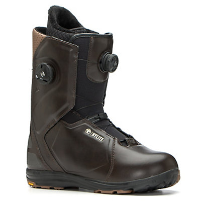 Flow Hylite Heel-Lock Focus Snowboard Boots 2017, Brown, viewer