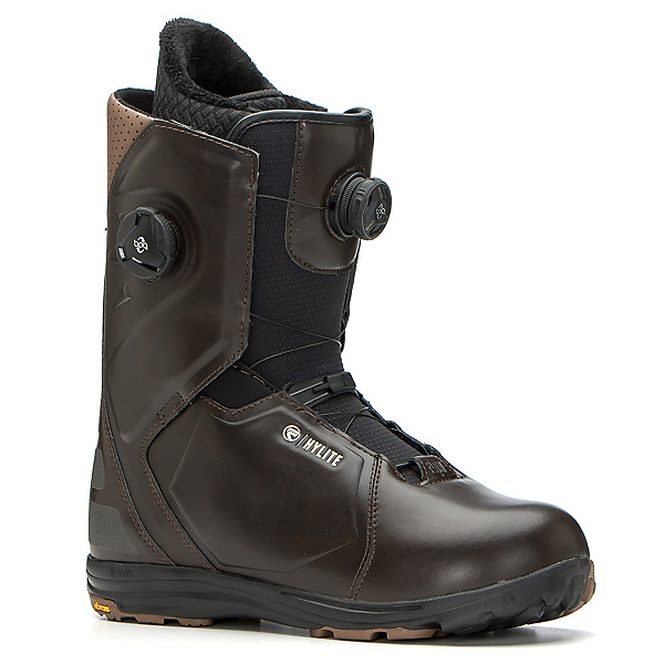Flow Hylite Heel-Lock Focus Snowboard Boots 2017, Brown, 600