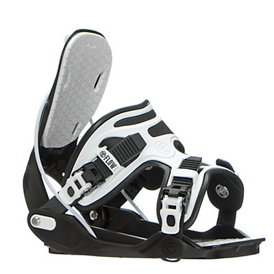 Flow Alpha Snowboard Bindings 2017, Charcoal, viewer