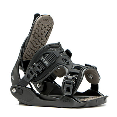 Flow Haylo Womens Snowboard Bindings 2017, Charcoal, viewer