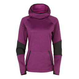 686 GLCR Storm Tech Fleece Pullover Womens Hoodie, Mulberry Heather, 256