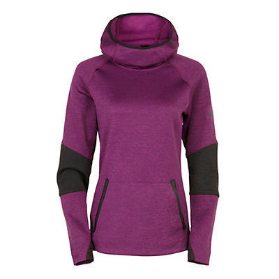 686 GLCR Storm Tech Fleece Pullover Womens Hoodie, Mulberry Heather, viewer