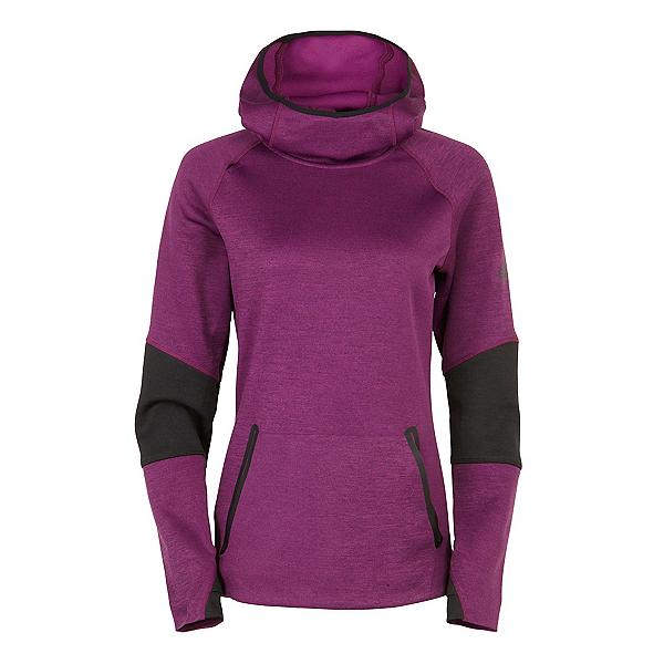 686 GLCR Storm Tech Fleece Pullover Womens Hoodie, Mulberry Heather, 600
