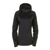 686 GLCR Storm Tech Fleece Pullover Womens Hoodie, Black, medium