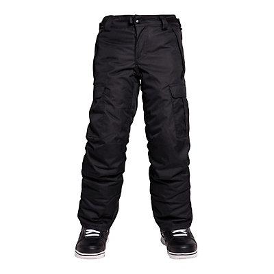 686 All Terrain Insulated Kids Snowboard Pants, Black, viewer