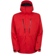 686 GLCR Ether Down Thermagraph Down Mens Insulated Snowboard Jacket, Red, medium