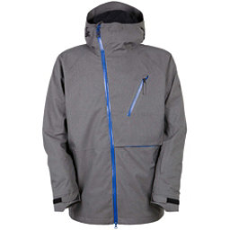 686 GLCR Hydra Thermagraph Mens Insulated Snowboard Jacket, Steel Rip Stop, 256