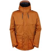 686 Parklan Field Mens Insulated Snowboard Jacket, Cognac, medium