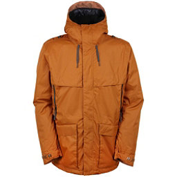 686 Parklan Field Mens Insulated Snowboard Jacket, Cognac, 256