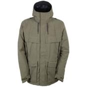 686 Parklan Field Mens Insulated Snowboard Jacket, Olive Heather, medium