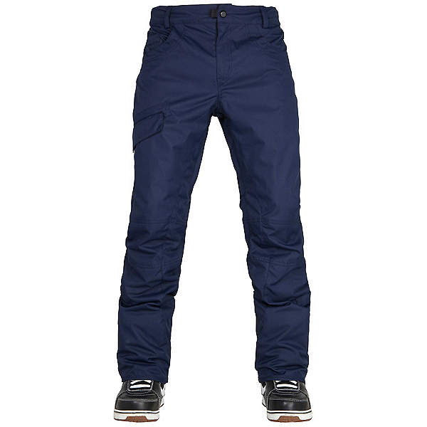 686 Parklan Shadow Mens Snowboard Pants, Midnight Blue, 600