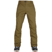 686 Parklan Shadow Mens Snowboard Pants, Olive, medium